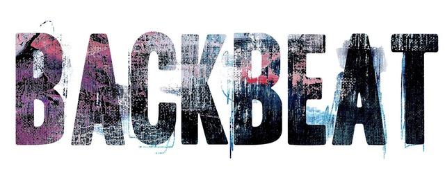「BACKBEAT」ロゴ