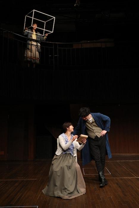 無名塾 稽古場公演2019「野鴨」より。