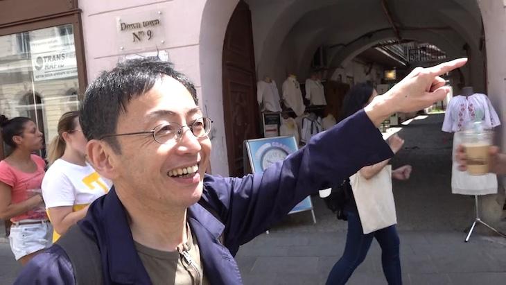 WOWOWプライム「ノンフィクションW 超・演劇人 野田秀樹 密着555日」より。
