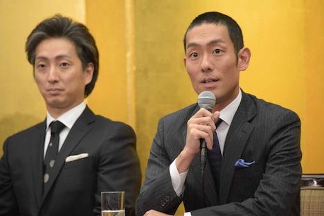 第35回「四国こんぴら歌舞伎大芝居」製作発表より。