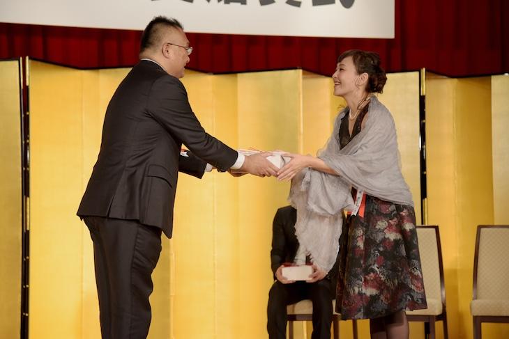 第70回読売文学賞贈賞式より。