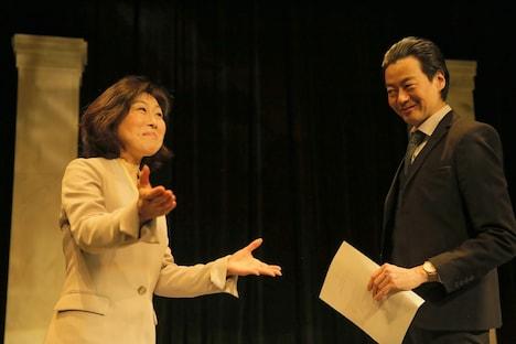 「THE Negotiation」より。(撮影:堀川高志)
