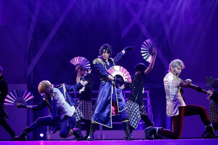 「2.5次元ダンスライブ『ツキウタ。』ステージ 第8幕『TSUKINO EMPIRE -Unleash your mind.-』」より。