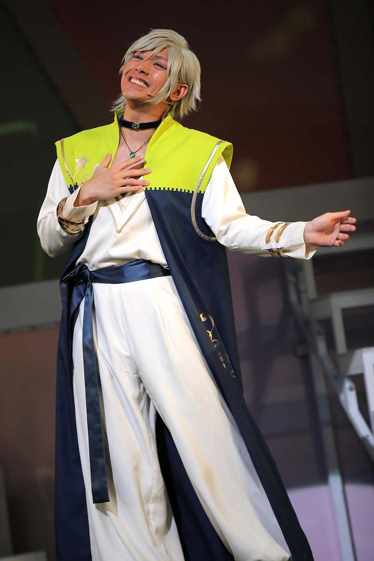 「MANKAI STAGE『A3!』~SPRING 2019~」より。