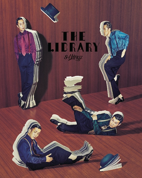s**t kingz「The Library」Blu-rayジャケット