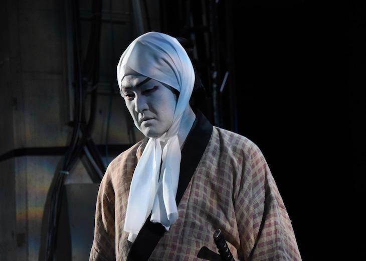 オフシアター歌舞伎「女殺油地獄」ゲネプロより。