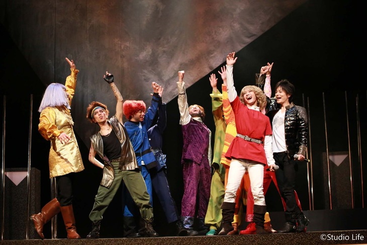 Studio Life公演「音楽劇 11人いる!」より。Studio Life公演「音楽劇 11人いる!」より。