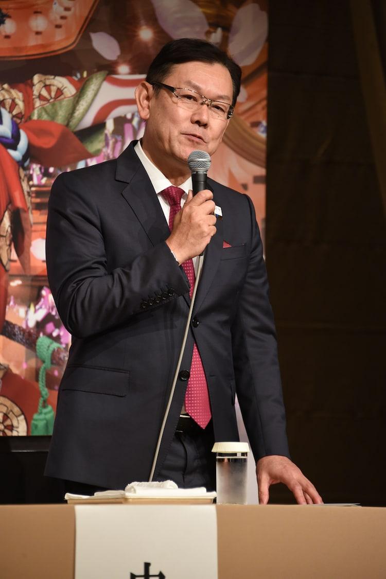 NTTの川添雄彦取締役研究企画部門長。