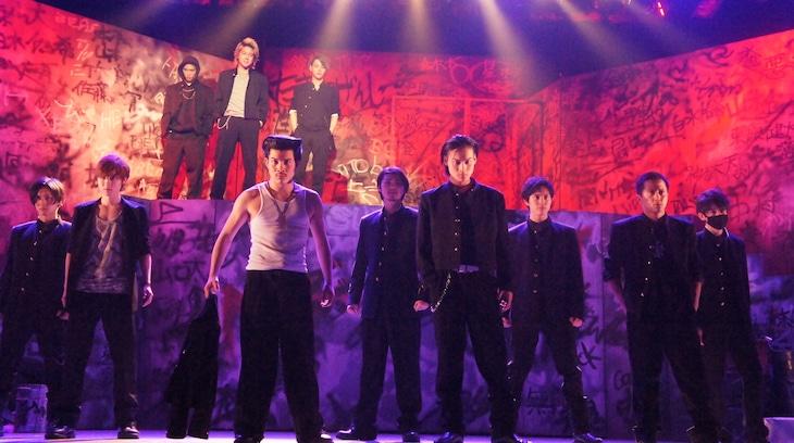 劇団番町ボーイズ☆×10神ACTORコラボ公演 舞台「クローズZERO」より。