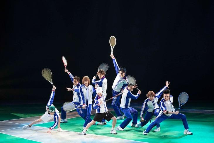 「ミュージカル『テニスの王子様』3rdシーズン 青学(せいがく)vs六角」より。