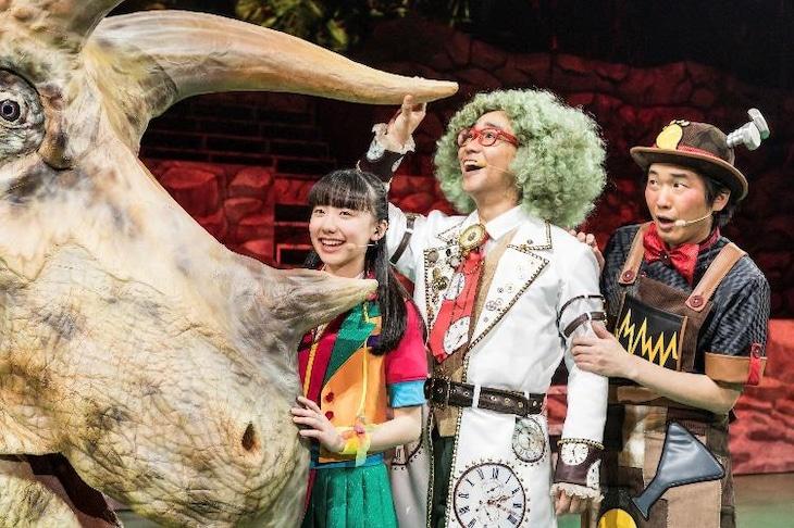 「世界一受けたい授業 THE LIVE 恐竜に会える夏!」より。