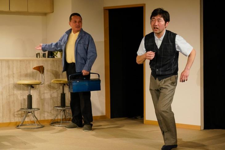 動物電気 2019年初夏公演「ブランデー!恋を語ろう」より。