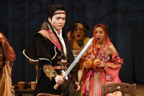 泉見洋平演じるマーナム。