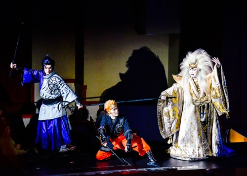 2018年に上演された、新作歌舞伎「NARUTO-ナルト-」より。