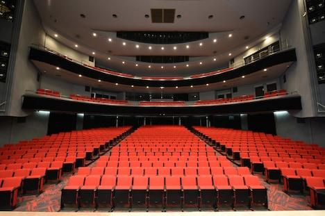 AiiA 2.5 Theater Kobeの劇場内の様子。
