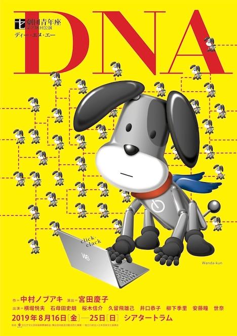 劇団青年座 第238回公演「DNA」表