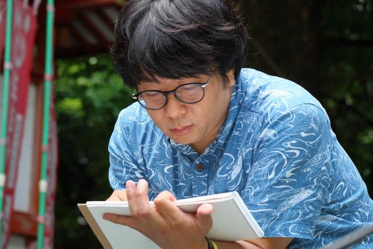 「つるさんかめさん~ニッポン算額探訪~」第6回より。諏訪雅。