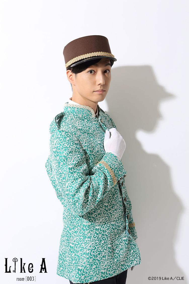 橋本有一郎扮するベル。