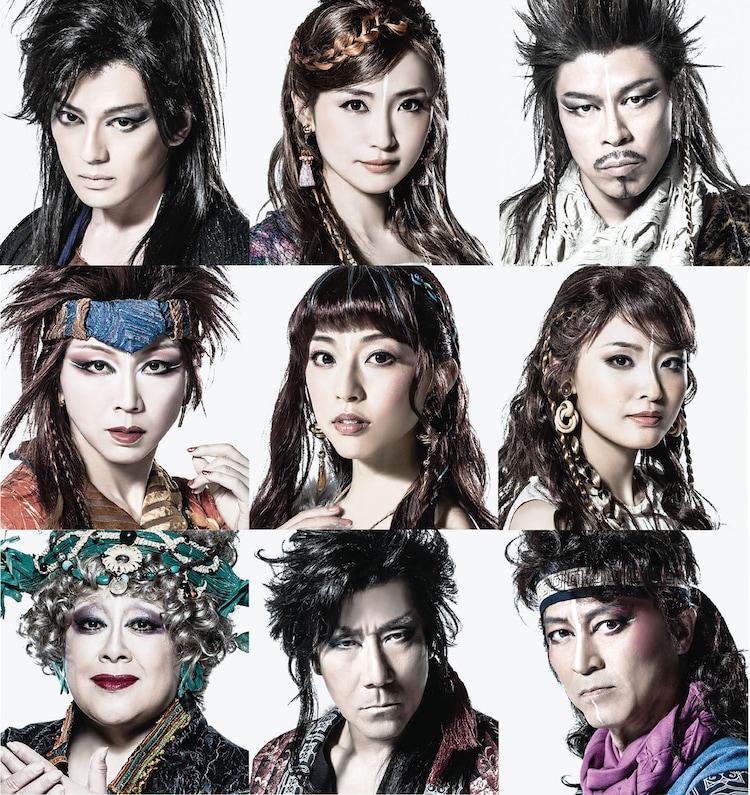 地球ゴージャス25周年祝祭公演「星の大地に降る涙 THE MUSICAL」出演者
