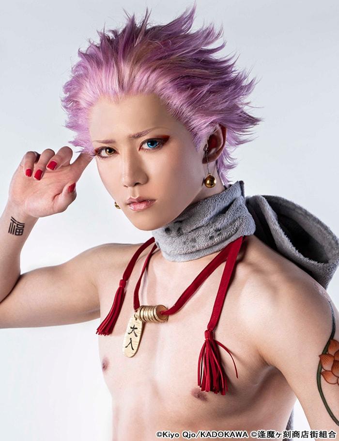 田中晃平扮する千両。