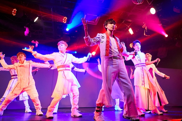 KYOTO SAMURAI BOYSのプレビュー公演より。