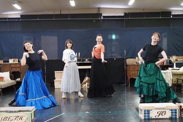 ミュージカル「Little Women -若草物語-」公開稽古より。