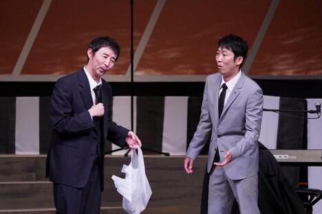 久馬君と石田君の演 第3回公演「生前葬(so)ng♪」より。