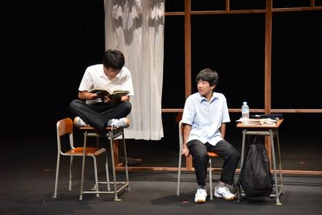 三重県高校演劇部選抜ver.「いつだって窓際であたしたち」ゲネプロより。