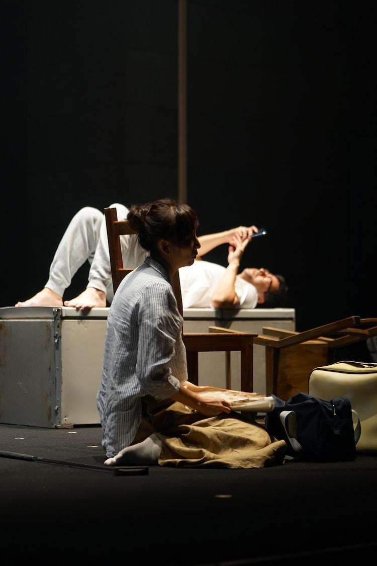 劇団た組。第19回目公演「今日もわからないうちに」より。