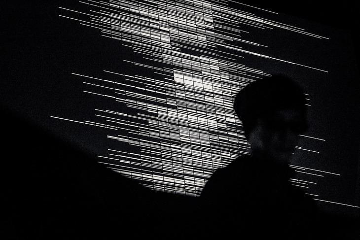 2013年に開催された「supercodex [live set]」より。(c)Ryoji Ikeda (Photo by Ryo Mitamura)