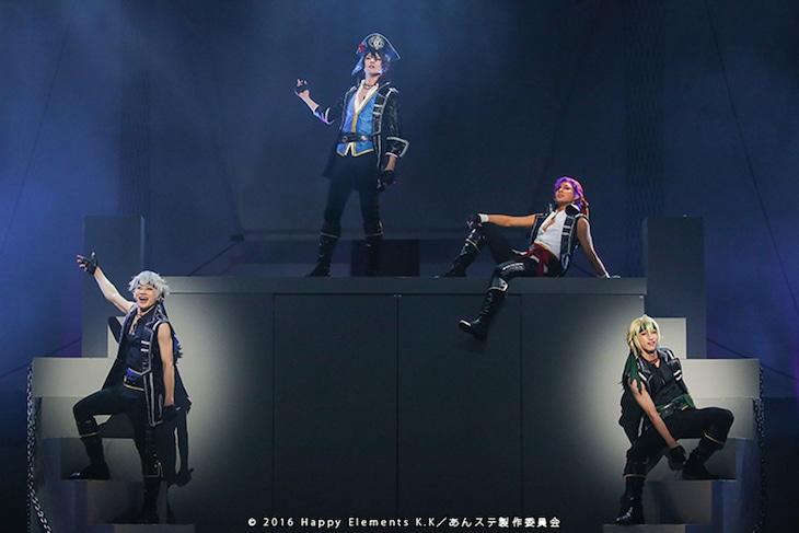 「『あんさんぶるスターズ!エクストラ・ステージ』~Destruction × Road~」より。