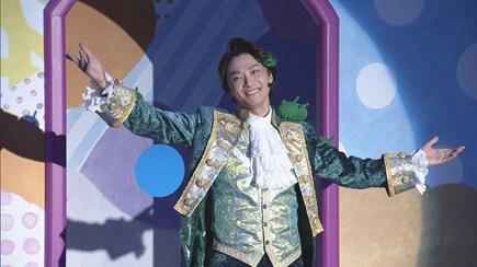 """NHK Eテレ「みいつけた!」より、""""サボうえよしお""""こと井上芳雄。(写真提供:NHK)"""