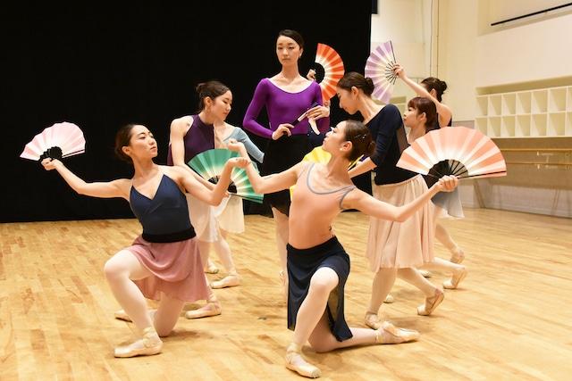 Tetsuya Kumakawa K-BALLET COMPANY Autumn 2019「マダム・バタフライ」公開リハーサルより。