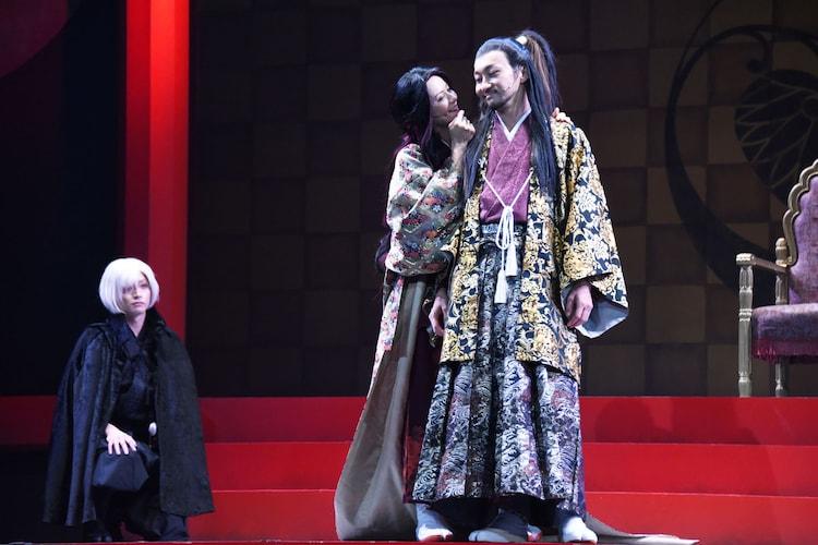 舞台「GOZEN-狂乱の剣-」ゲネプロより。