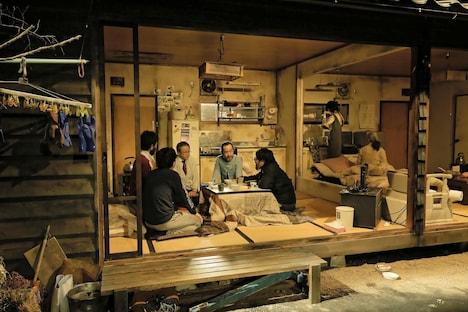 庭劇団ペニノ「『笑顔の砦』RE-CREATION」より。