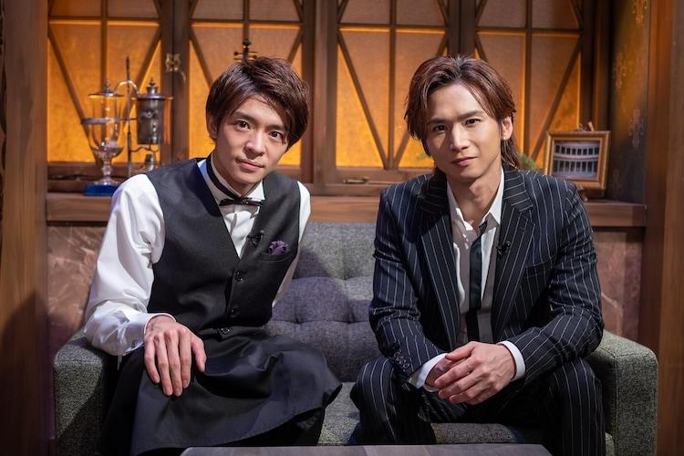 左から岸優太(King & Prince)、堂本光一(KinKi Kids)。(写真提供:NHK)