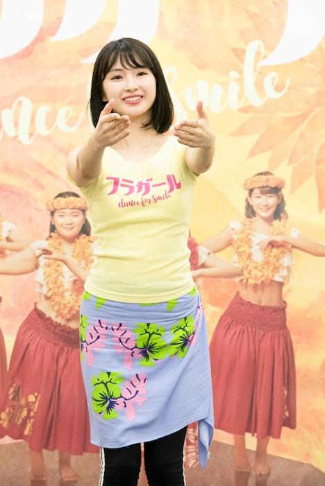 「フラガール -dance for smile-」稽古場より。(撮影:川野結李歌)
