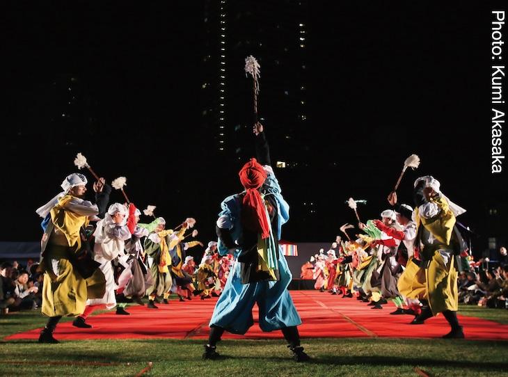 「大田楽 いけぶくろ絵巻」過去公演より。(撮影:赤坂久美)