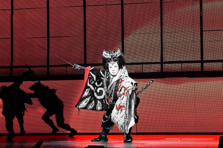 「スーパー歌舞伎II(セカンド)『新版 オグリ』」より。市川猿之助。