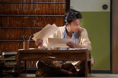 こまつ座&ホリプロ公演「組曲虐殺」より。(撮影:宮川舞子)