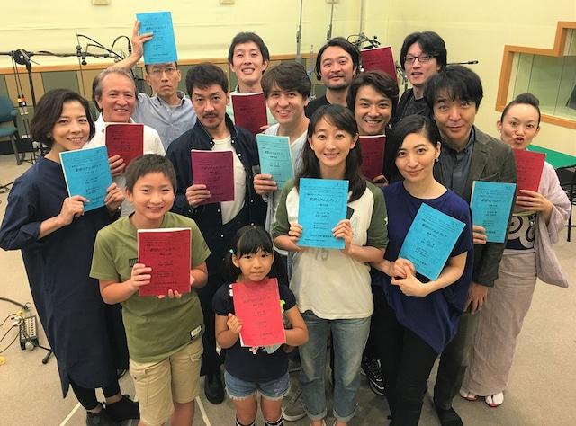 NHK-FM「青春アドベンチャー『紺碧のアルカディア』」出演者(写真提供:NHK)