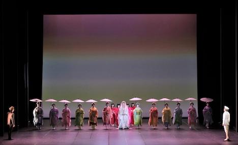 東京二期会オペラ劇場「蝶々夫人」より。