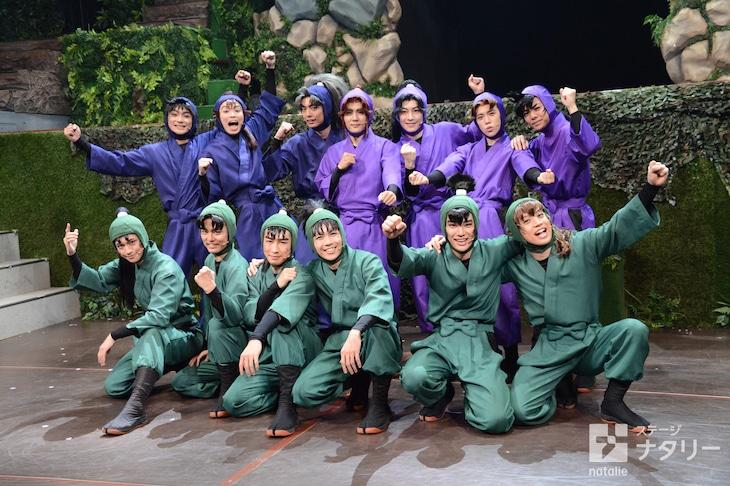 「ミュージカル『忍たま乱太郎』第10弾 再演~これぞ忍者の大運動会だ!~」の出演者。