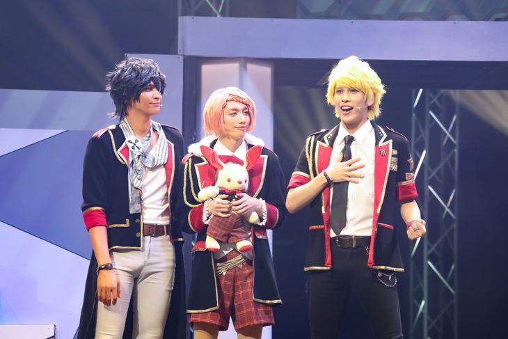 「アイ★チュウ ザ・ステージ ~Rose Ecarlate deux~」ゲネプロより。(Photo by mariafujio)
