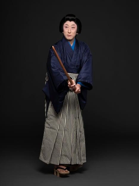 「市松小僧の女」より、中村時蔵扮するお千代。