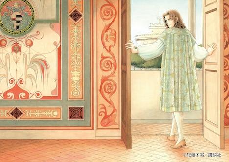ミュージカル「チェーザレ 破壊の創造者」イメージイラスト
