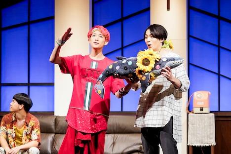 SUNPLUS 第1回公演「SUMMER BAZAAR~夏の終わり~」より。(撮影:梁瀬玉実)