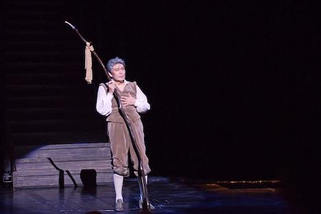 日本初演50周年記念公演 ミュージカル「ラ・マンチャの男」上演回数1300回特別カーテンコールより、松本白鸚。
