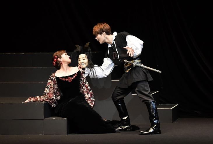 音楽劇「ハムレット」より。
