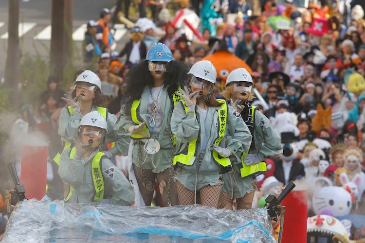 「ハロウィン・パレード」より、東京ゲゲゲイ。